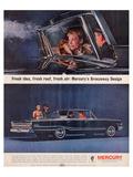 1963 Mercury-Breezeway Design Print