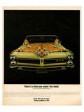1965 Pontiac Gto Tiger Hood Posters