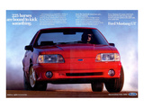 1993 Mustang - 225 Horses Affiches