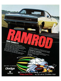 1968 Dodge Charger Ramrod Poster