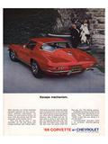1966 Corvette Escape Mechanism Pósters