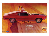 1969 Ford Mustang Mach 1 Prints