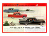 1962 Mercury-Travel in Comfort Láminas