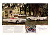 1963 Thunderbird By Ford Poster