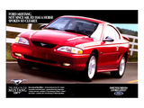 1996 Mustang-Spoken So Clearly Affiches