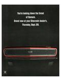 1967 Chevrolet Camaro: Throat Print