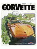 1974 GM Corvette- a Better Way Poster