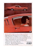 1965 Mustang-Total Performance Print