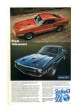 1969 Mustang Fire & Refinement Láminas