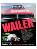 1969 Dodge Charger Rt Wailer Posters