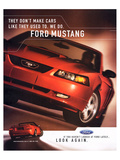 2003 Mustang-Like They Used To Póster