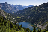 A Small Lake in the North Cascades National Park Photographic Print by Michael Hanson