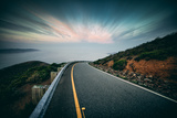 Roadside Clouds, Marin Headlands, San Francisco Photographic Print by Vincent James