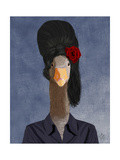 Amy Winehouse Goose Poster by  Fab Funky
