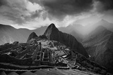 The Pre-Columbian Inca Ruins of Machu Picchu Fotografie-Druck von Jim Richardson