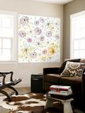 Floral Wall Mural by Sarah Ogren