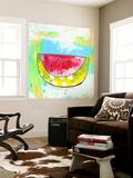 Hot Watermelon Seinämaalaus tekijänä Sarah Ogren