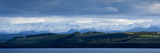 Lake Te Anau, Te Anau Downs and the Earl Mountains Fotografisk trykk av Michael Melford