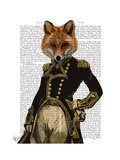 Admiral Fox Full Posters by  Fab Funky