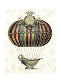 Baroque Balloon with Clock Lámina giclée prémium por  Fab Funky