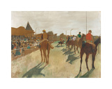 The Parade, c.1866-1868 Premium Giclee-trykk av Edgar Degas
