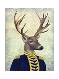 Captain Deer Posters by  Fab Funky