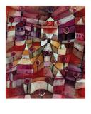 La roseraie Reproduction procédé giclée par Paul Klee