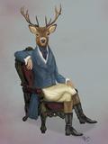 Distinguished Deer Full Schilderijen van  Fab Funky