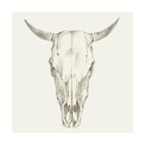 Western Skull Mount I Kunstdruck von Ethan Harper