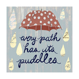 Rainy Day II Kunstdrucke von Grace Popp