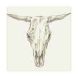 Western Skull Mount II Kunstdrucke von Ethan Harper