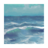 Ocean Waves II Print by Rick Novak