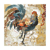 Rooster Flair I Poster di Evelia Designs