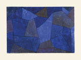 Rocks at Night (Felsen in der Nacht) Premium Giclee Print by Paul Klee
