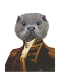 Captain Otter Poster von  Fab Funky