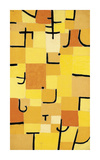 Signs in Yellow Premium Giclee Print by Paul Klee
