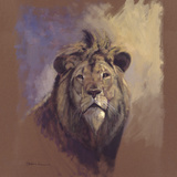 Lion Giclee Print by Stan Kaminski