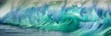Wave Photo at Papohaku Beach, West End, Molokai, Hawaii Reproduction photographique par Richard Cooke III