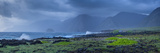 Sunrise Shoreline View Along Kalawao Looking to North Shore Cliffs, Molokai, Hawaii Fotografisk trykk av Richard Cooke III