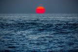 Sunset at Papohaku Beach, West End, Molokai, Hawaii Fotografisk trykk av Richard Cooke III