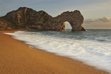 The Durdle Door Rock Arch at Sunset Photographic Print by Nigel Hicks