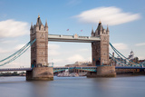 Tower Bridge, Thames River, London, England Photographic Print