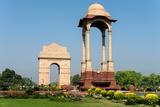 View of the India Gate, New Delhi, India Impressão fotográfica
