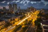 A City Street in Havana, Cuba Impressão fotográfica por Alex Saberi