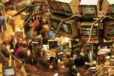 This Is the Interior of the New York Stock Exchange on Wall Street Fotografisk trykk av Green Light Collection
