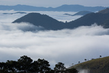 Above the Clouds in Sao Francisco Xavier at Sunrise Impressão fotográfica por Alex Saberi