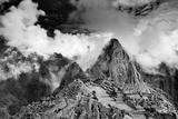 The Pre-Columbian Inca Ruins of Machu Picchu Fotoprint av Jim Richardson