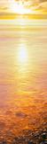 View of Ocean During Sunset, Calumet Park Beach, La Jolla, San Diego, California, Usa Fotografie-Druck von Panoramic Images