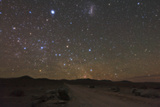 The Large Magellanic Cloud and Bright Star Canopus in the Southern Sky over the Atacama Desert Photographic Print by Babak Tafreshi