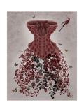 Woodland Corset Lámina giclée prémium por  Fab Funky